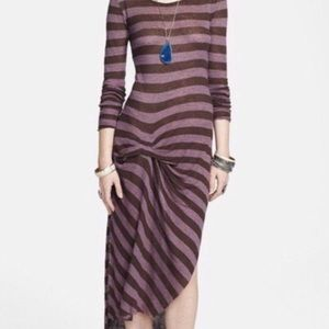 Free People Beach Long Sleeves Maxi Dress